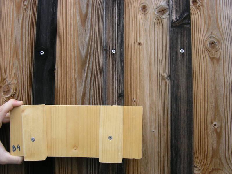 Holzfassaden vertikale oder horizonale schalung for Boden deckel schalung
